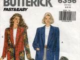 Butterick 6356 A