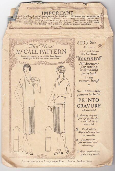 McCall 4095