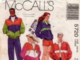 McCall's 5720 B