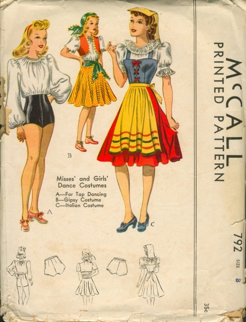 McCall 792 | Vintage Sewing Patterns | FANDOM powered by Wikia