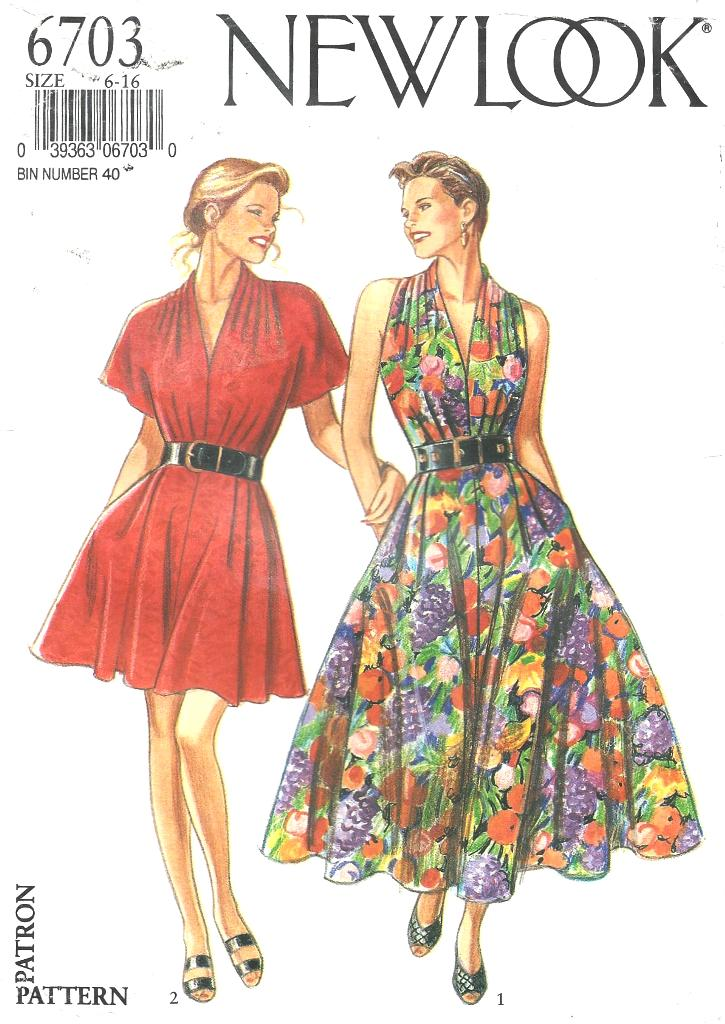 New Look 6703 | Vintage Sewing Patterns | FANDOM powered by Wikia