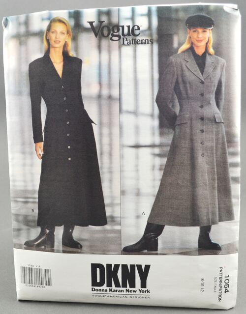 Vogue 1054 Misses' Coat Dress 1