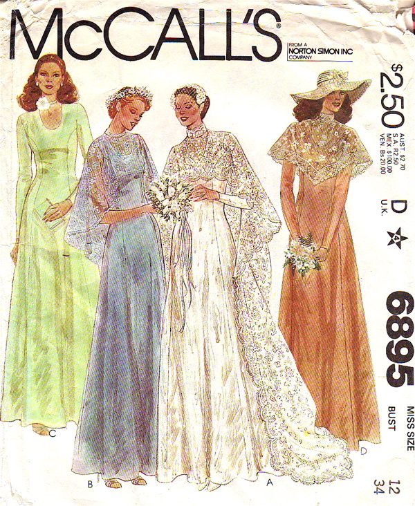 McCall\'s 6895 | Vintage Sewing Patterns | FANDOM powered by Wikia