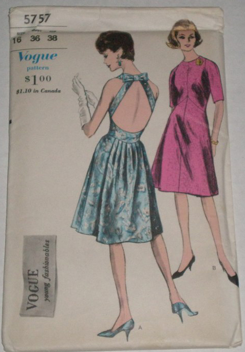 Vogue 5757   Vintage Sewing Patterns   FANDOM powered by Wikia
