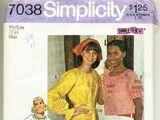 Simplicity 7038 A