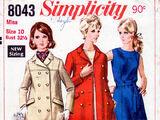 Simplicity 8043