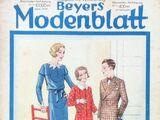 Beyers Modenblatt No. 21 Vol. 9 1931