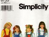 Simplicity 8755 B