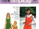 Simplicity 7074