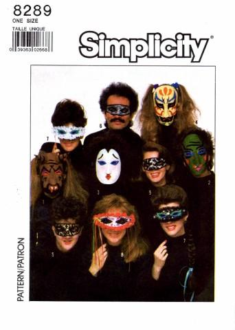 Simplicity 1987 8289