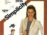 Simplicity 5926