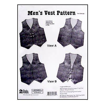 Tandy Leather Vest | Vintage Sewing Patterns | FANDOM powered by Wikia