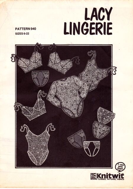 Knitwit 940   Vintage Sewing Patterns   FANDOM powered by Wikia