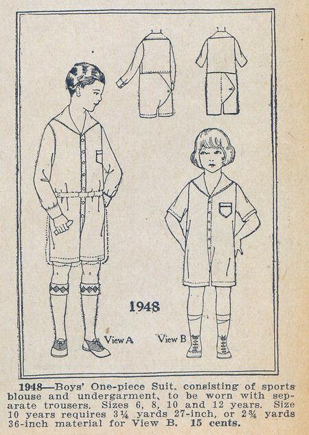 Home Dressmaker 0157 1948