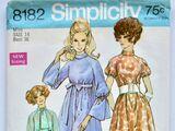 Simplicity 8182 A