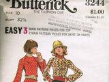 Butterick 3244 A