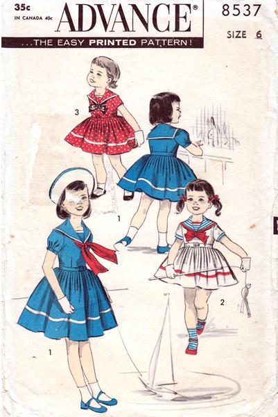 Advance-8537-girls-pattern