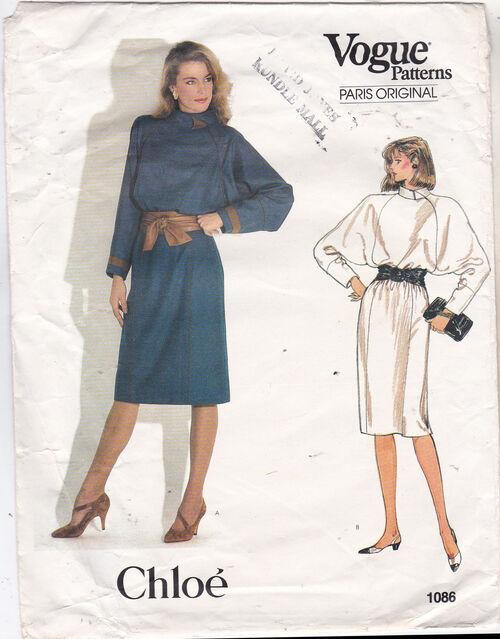 Pattern - Vogue 1086 02