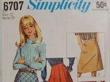 Simplicity 6707