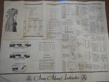 Anne Adams 4882 - COMPLETE INSTRUCTIONS