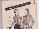 Butterick 3706 A