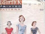 Butterick 6875 A