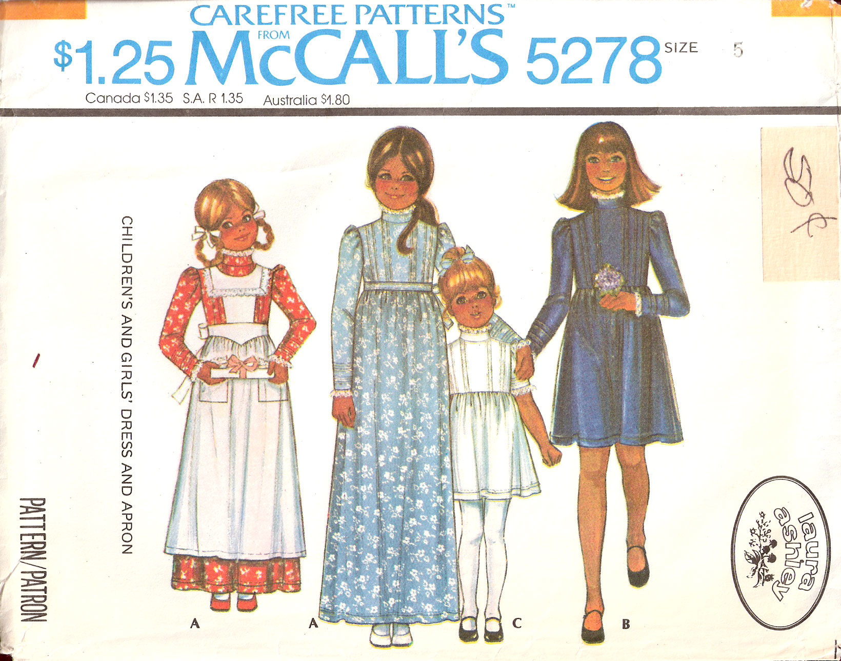 McCall\'s 5278 | Vintage Sewing Patterns | FANDOM powered by Wikia