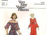 Vogue 8605 A