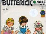 Butterick 4243 B