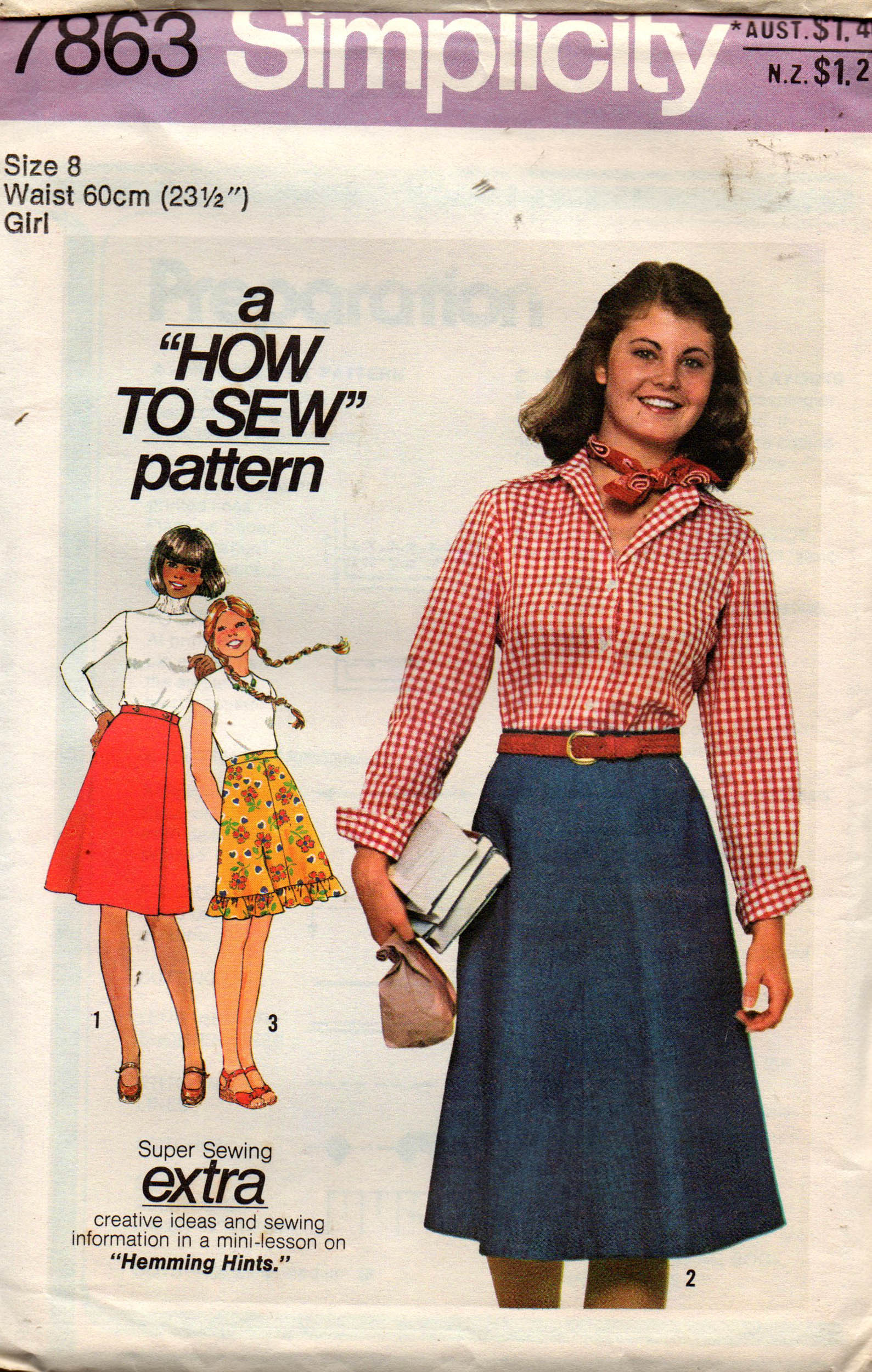 f9016295fdfa Simplicity 7863 A | Vintage Sewing Patterns | FANDOM powered by Wikia