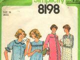 Simplicity 8198 A