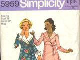 Simplicity 5959 B