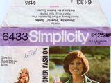 Simplicity 6433 B