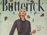 Butterick Pattern Book School and Fall Issue 1956