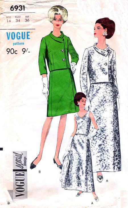 Pattern - Vogue 6931