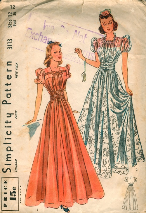 Simplicity 3113 A | Vintage Sewing Patterns | FANDOM powered by Wikia