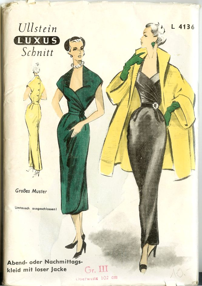Category:Ullstein Schnitt | Vintage Sewing Patterns | FANDOM powered ...