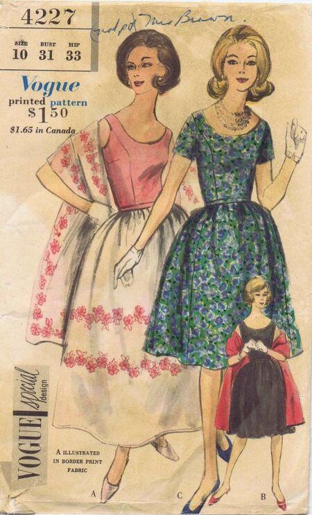 Vogue 1961 4227