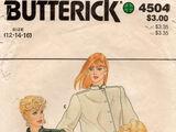 Butterick 4504 B