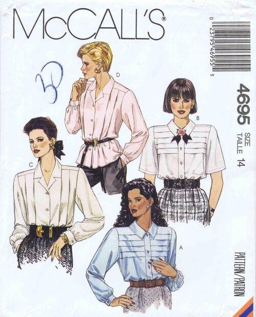 McCalls 1990 4695