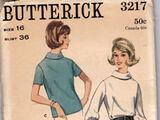 Butterick 3217