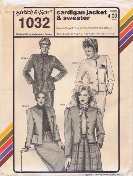 Stretch & Sew 1985 1032