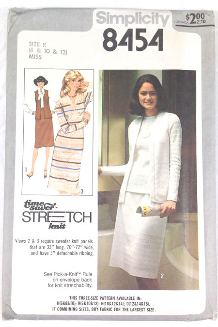 Simplicity 8454 B Vintage Sewing Patterns Fandom Powered By Wikia