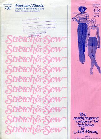 Stretch&sew700pants