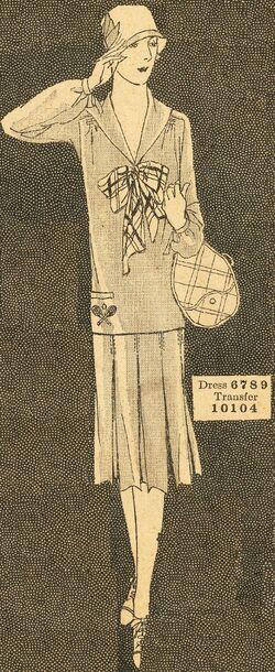 Butterick 1926 6789