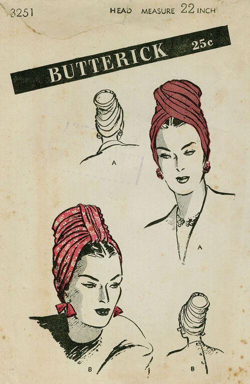 Butterick 3251 FRT