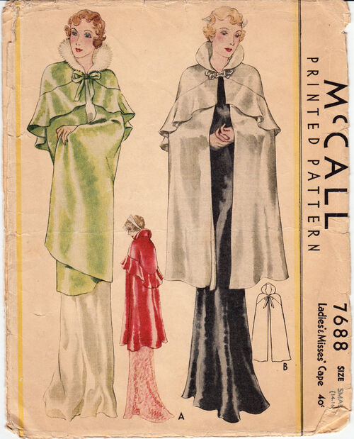 Mccall 7688 c. 1933