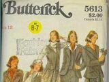 Butterick 5613 A