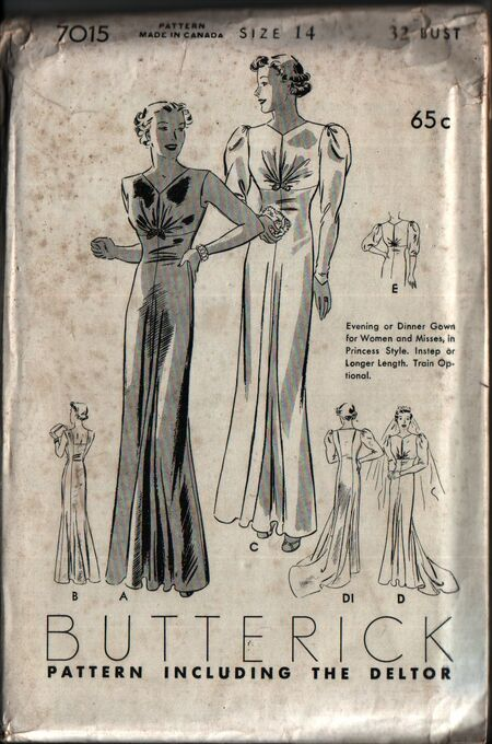Butterick 7015 front