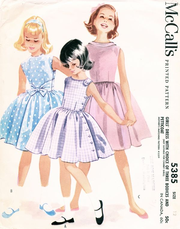 McCall\'s 5385 | Vintage Sewing Patterns | FANDOM powered by Wikia